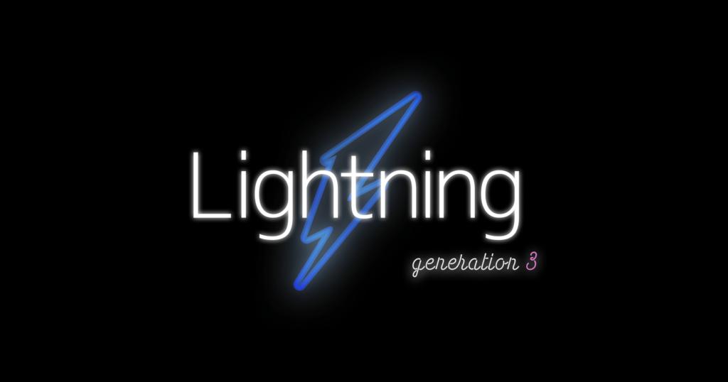 Lightning G3 クイックスタート | Lightning